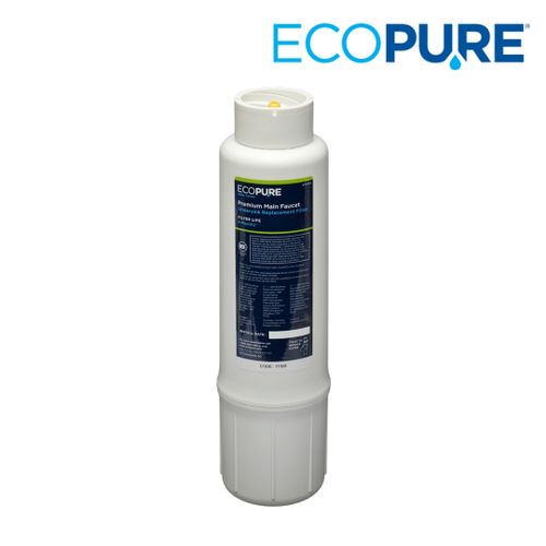 EcoPure Premium Main Faucet Under Sink Replacement Filter