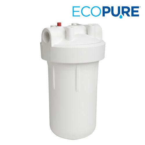 EcoPure High-Flow Whole Home Water Filter System with Pressure Release Button